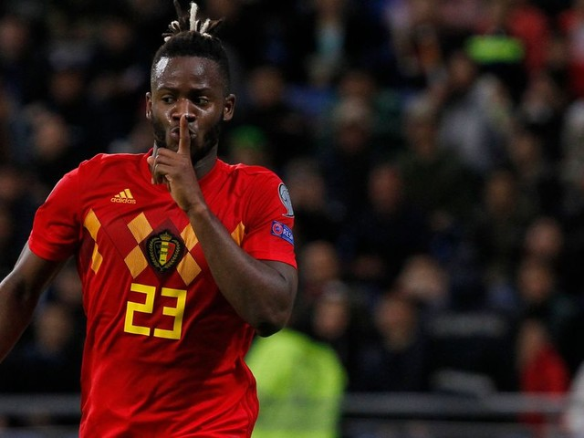 WATCH: Michy Batshuayi wraps up Belgium move to open the scoring against Kazakhstan