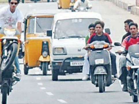 Hyderabad Police arrest parents who allowed their under-age kids drive / ride
