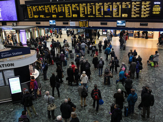 Empty Euston Station To Serve Dinner To 200 Homeless People On Christmas Day