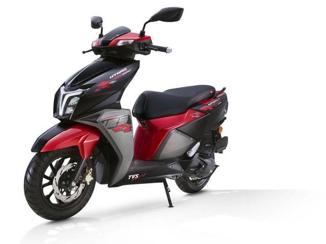 TVS Ntorq 125 sales cross 3.5 lakh mark