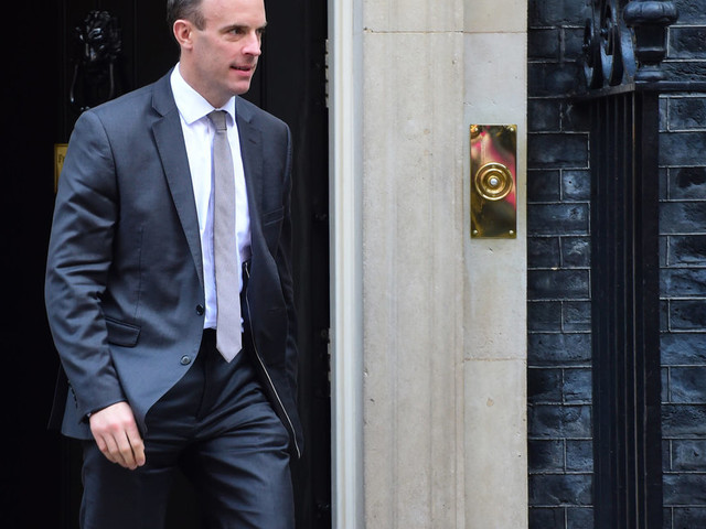 Dominic Raab To Hold Brexit Talks In Brussels Ahead Of Crucial EU Summit