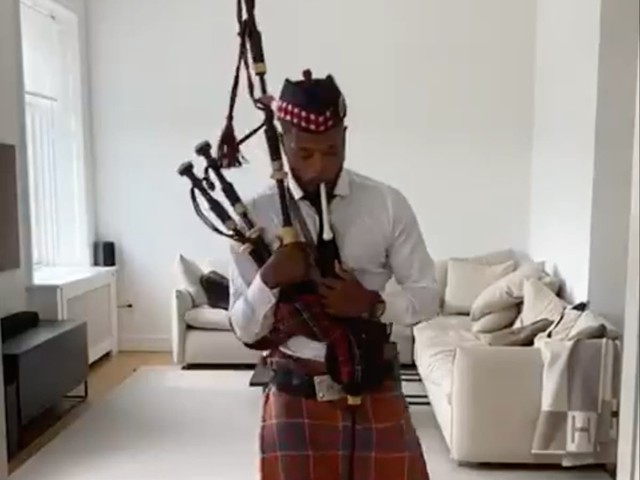 Evra on the bagpipes and Westwood gets married – Saturday's sporting social
