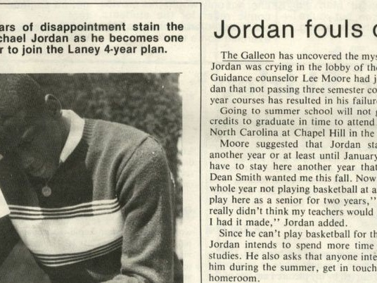 The two times Michael Jordan played pretty good April Fools' jokes