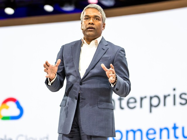 Google revealed that its cloud business is on run rate of more than $8 billion, and it plans to triple the size of its salesforce (GOOG, GOOGL)