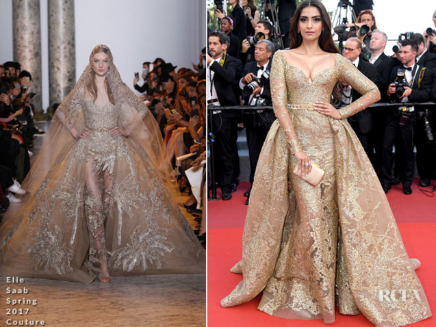 Sonam Kapoor In Elie Saab Couture – 'The Killing Of A Sacred Deer' Cannes Film Festival Premiere