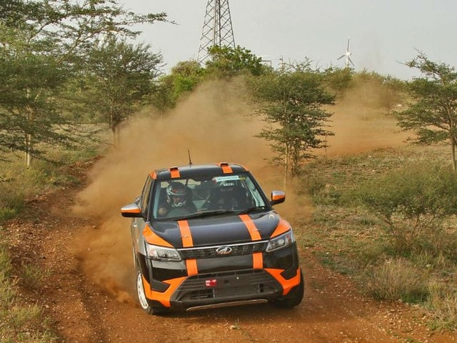 Rally-Spec Mahindra Super XUV300 Revealed For INRC 2019