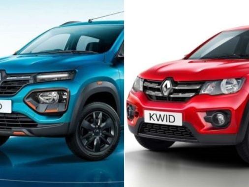 New-Gen Renault Kwid Vs Previous-Gen Renault Kwid
