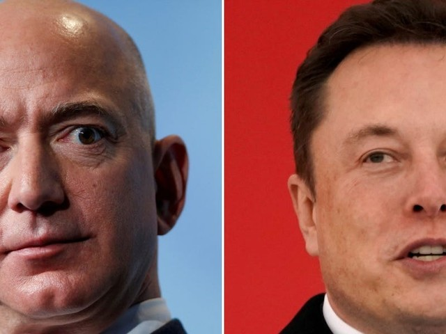Elon Musk wishes long-time rival Jeff Bezos 'best of luck' for Blue Origin's flight to the edge of space