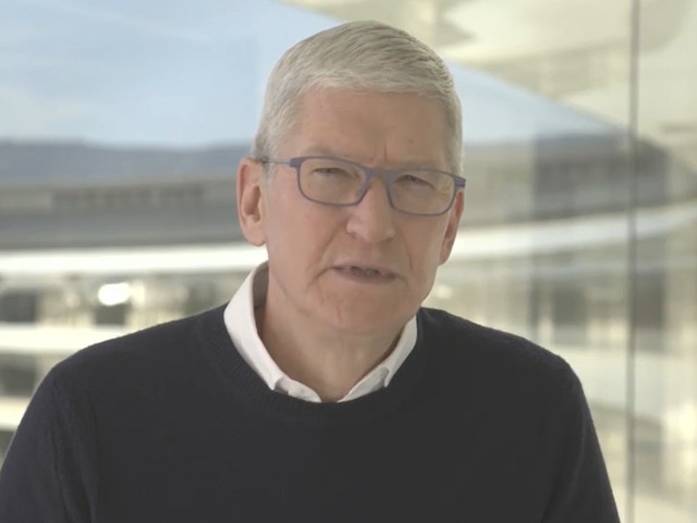 Apple CEO Tim Cook Defends Parler App Suspension: 'We Don't Consider That Free Speech'