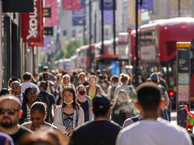 UK economy grows as virus lockdown eases