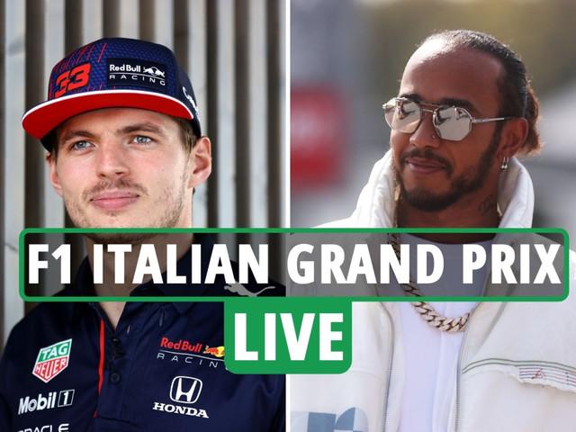 F1 Italian Grand Prix practice and qualifying LIVE RESULTS: Hamilton looks to overhaul Verstappen in Monza