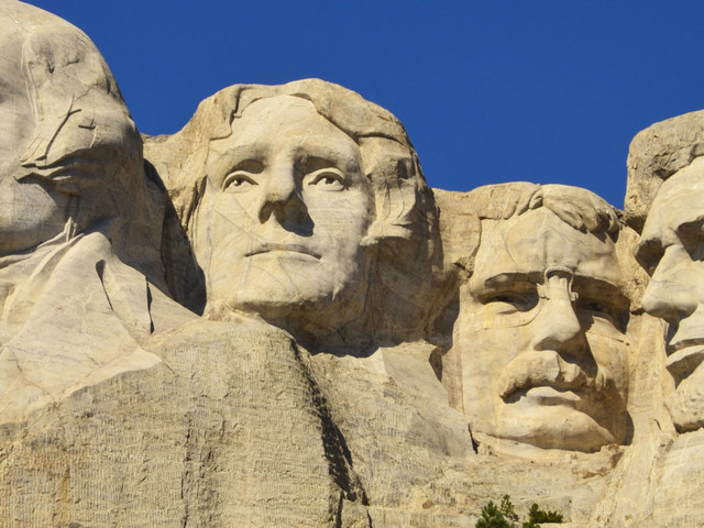 Trump's Mount Rushmore 'Joke' Goes Down As You'd Expect