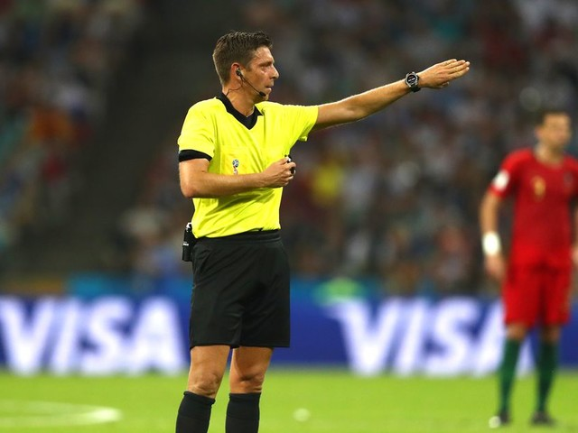 Italian referee Gianluca Rocchi takes all kinds of criticism in World Cup game