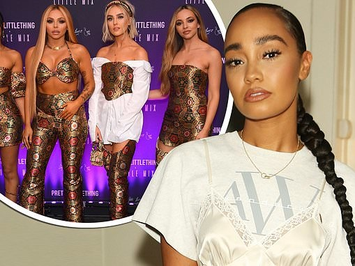 Little Mix's Leigh-Anne Pinnock 'HATES' being apart from her bandmates amid COVID-19 lockdown