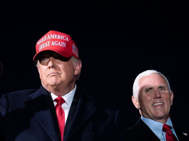Trump and his legal team are praying for a Hail Mary hoping Pence will suspend the electoral college vote count and send the fight back to the states, sources say