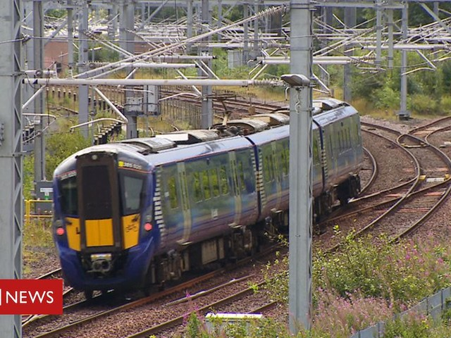 Boy, 12, dies after railway power lines accident in Glasgow