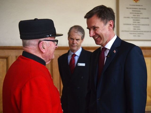 Jeremy Hunt says Brits should have money taken out of pay packets to fund care in old age