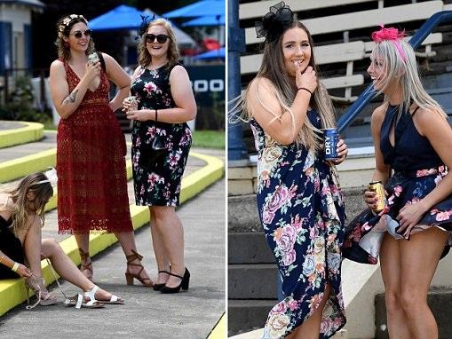 Racegoers enjoy spring day at the famous Ballarat Cup