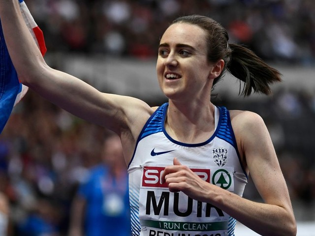 Laura Muir time trials her way to glory to become first British woman to be crowned European 1500m champion