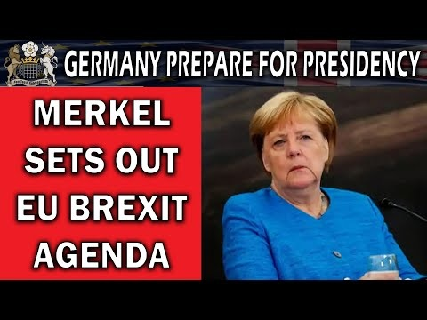 Germany takes over EU presidency amid pandemic battle