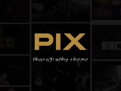 Pix - Photography Studio WordPress Theme (Photography)