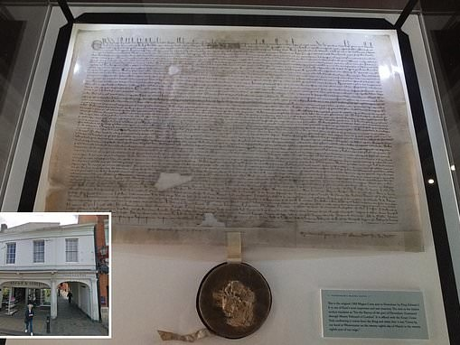 Fury as cash-strapped council says it may sell off Magna Carta