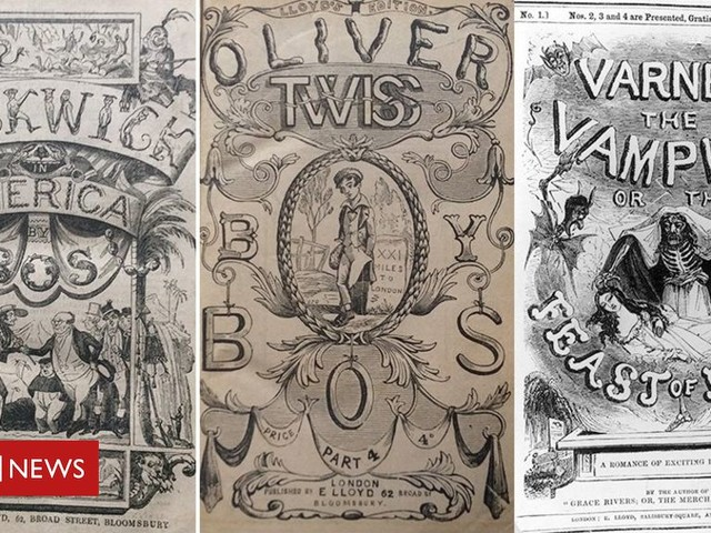 Charles Dickens: Publisher made fortune from book imitations