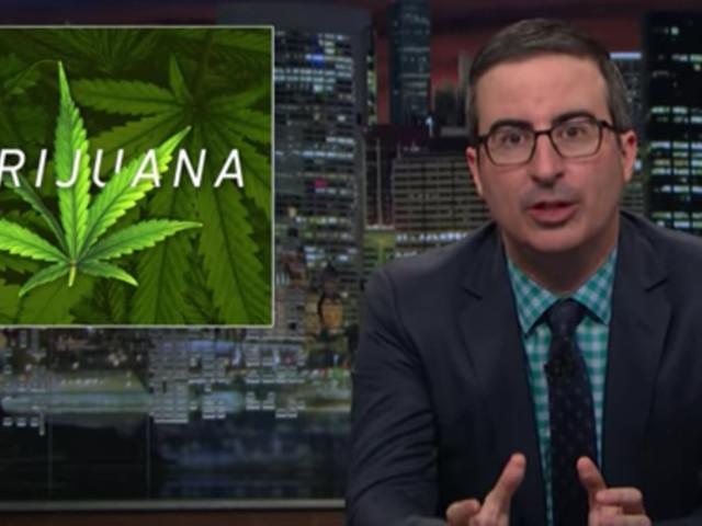 John Oliver Goes Off On America's Most Absurd Marijuana Laws