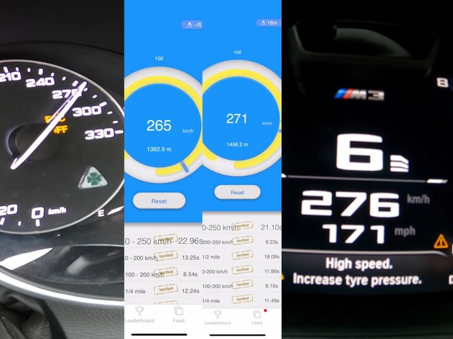BMW M3 and Alfa Giulia QV Sound Battle Also Calls for 174-MPH Autobahn Sprint