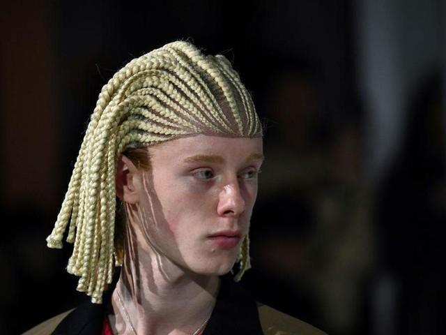 Comme Des Garçons slammed for 'cultural appropriation' over white models in 'cornrow wigs'
