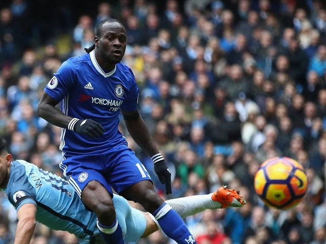 Victor Moses not all that impressed by Manchester City's nine-point lead over Chelsea