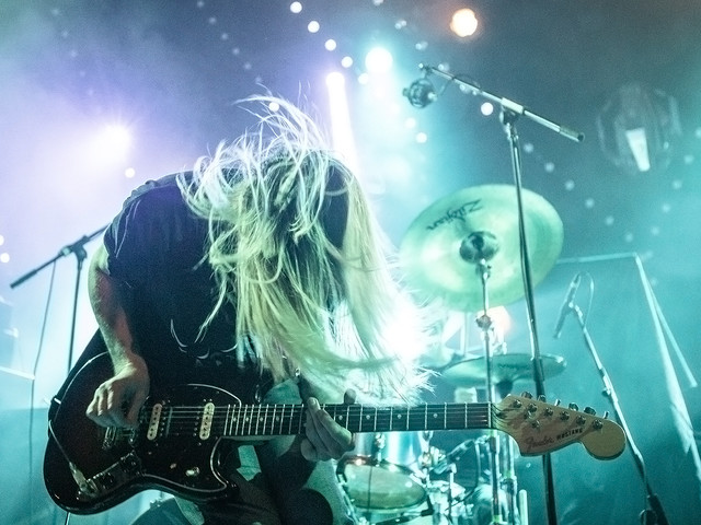 Pulled Apart By Horses bring their winter tour to Arts Club