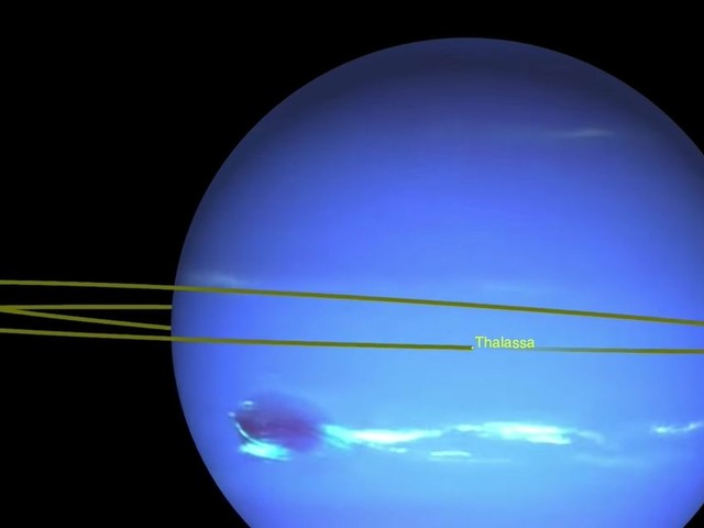 Neptune's moons have to 'dance' to avoid smashing into each other, NASA finds