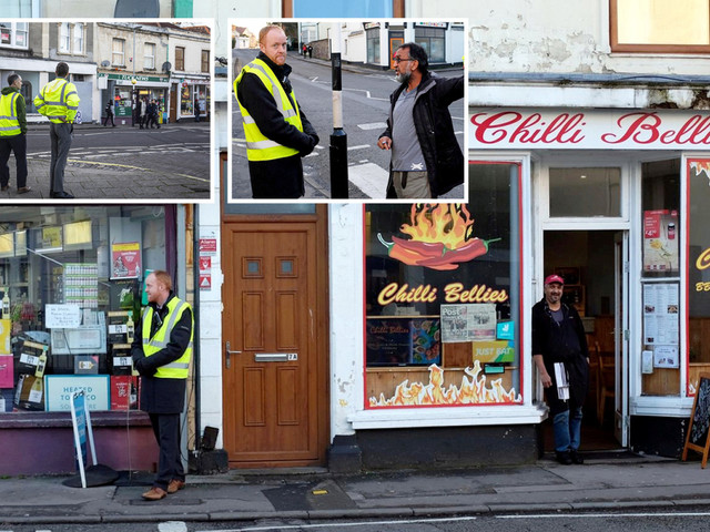 Police called after school bans kids from takeaways on the way home with teachers guarding chippy 'like bouncers'