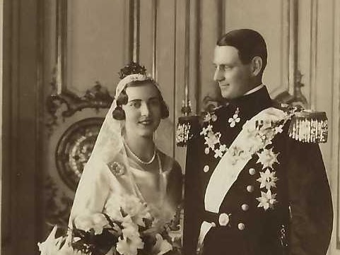 The Marriage of Crown Prince Frederik of Denmark and Princess Ingrid of Sweden.
