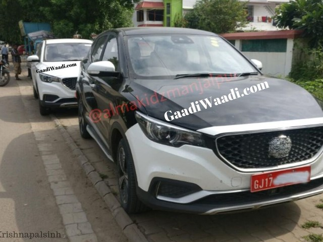 MG ZS Electric SUV Spied Testing In India; Launch In Early 2020