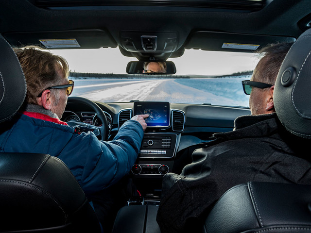 Arctic Ice Road: driving this treacherous route in Mercedes-AMG GLE 43