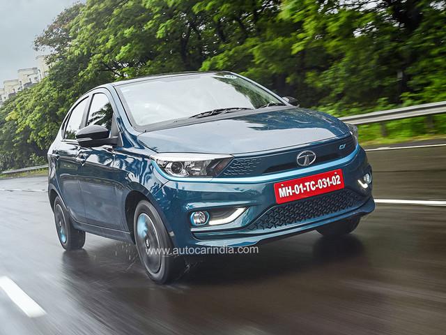 Review: 2021 Tata Tigor EV facelift review, test drive