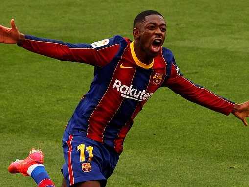 Man United make contact with Ousmane Dembele's agent as Frenchman winds down Barcelona contract