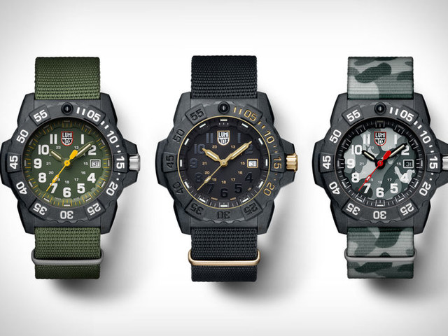 Special Operations Timepieces - The Luminox Navy SEAL 3500 Series Comes in Seven Color Options (TrendHunter.com)