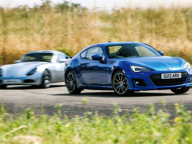 Subaru BRZ vs TVR T350 - new vs used