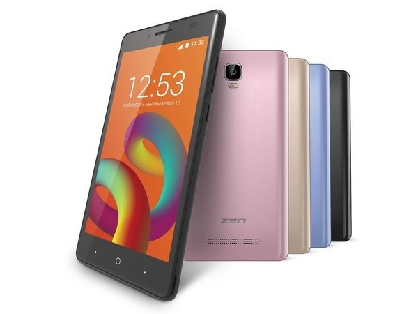 Zen Admire Unity With 5-Inch Display, 4G VoLTE Support Launched in India