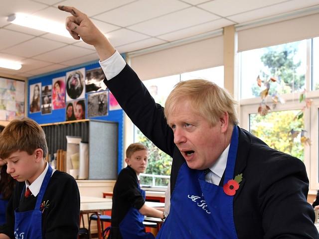 Reaction: Boris Johnson pledges £1bn 'decade of spending' on schools