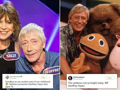 Geoffrey Hayes who hosted children's programme Rainbow dies aged 76