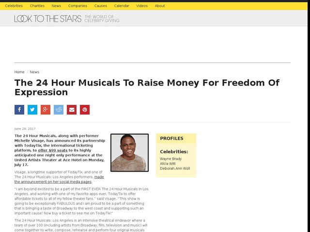 The 24 Hour Musicals To Raise Money For Freedom Of Expression