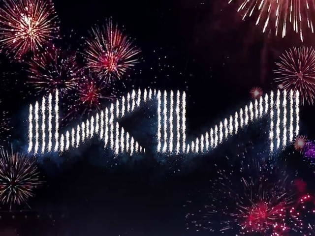 Kia's New Logo Revealed With A Massive Fireworks Display