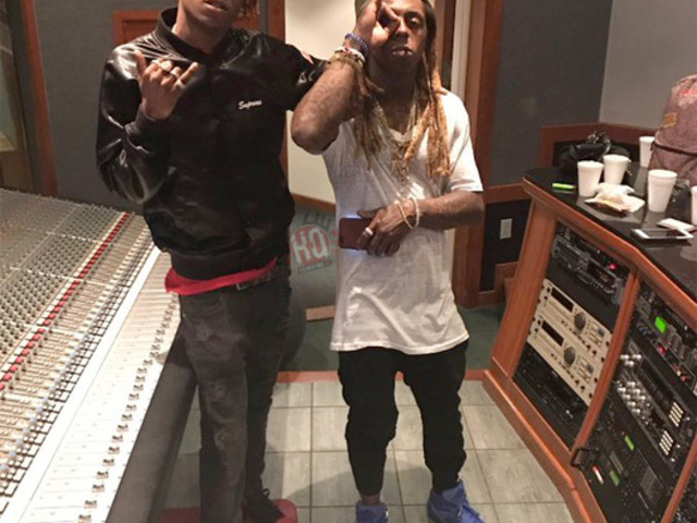 Rich The Kid Previews A New Song With Lil Wayne Produced By Bloublood [Video]