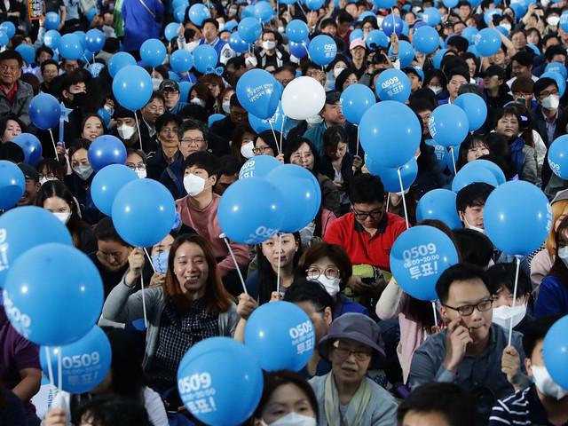 South Korea Votes After Scandal Jails Ex-President