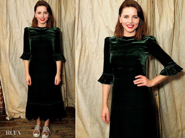 Ophelia Lovibond In The Vampire's Wife -'The Bay At Nice' – Press Night After Party