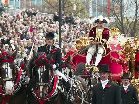 Tickets Alert: Lord Mayor Show grandstand seats